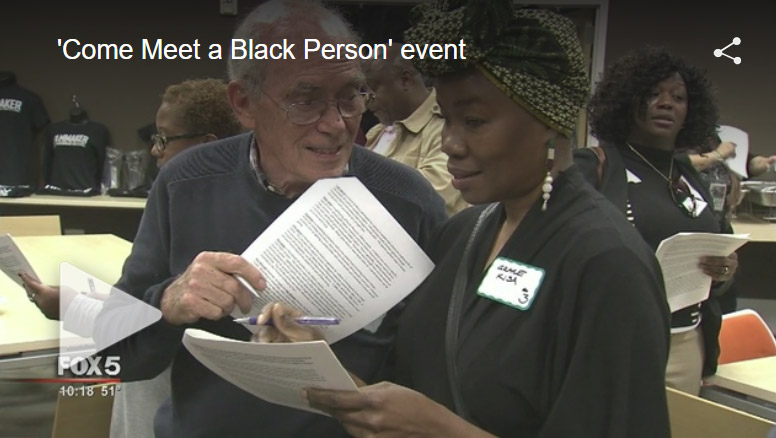 Fox 5 Atlanta News :: 'Come Meet a Black Person' event