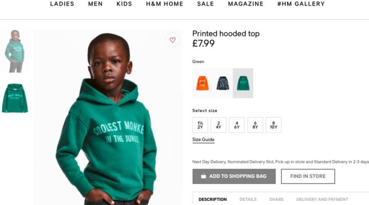 H&M Poses Black Child Model In 'Monkey' Sweatshirt, Faces Fury On Social Media
