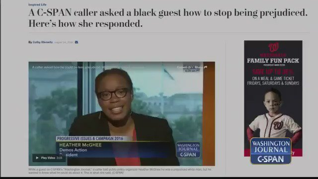 A C-SPAN caller confessed his racism to a black guest. A year later, he called back to say how he'd changed.